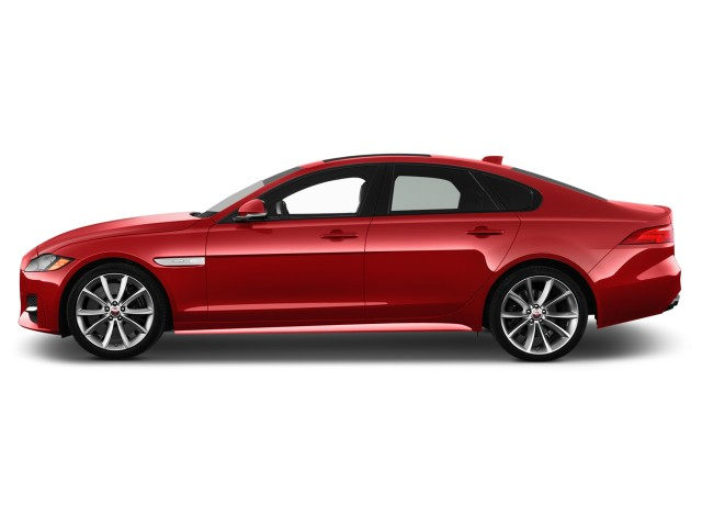 2018 Jaguar XF S AWD Side Exterior View