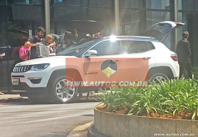 Spotted - All new 2017 Jeep Compass caught without camouflage