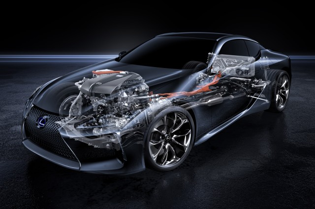 2018 Lexus Lc 500h First Details On Multi Stage Hybrid Tech