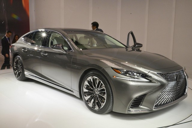 The Lexus LS 500 F Sport is arriving in NY