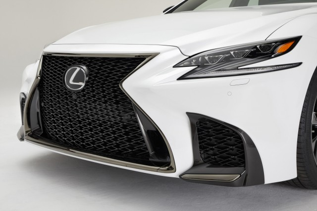 Lexus spices up LS 500 with all-new F Sport model
