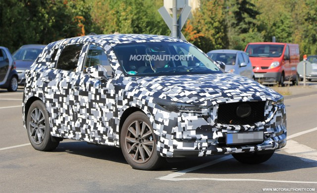 Next-gen 2017 Mazda CX-5 to debut at LA auto show