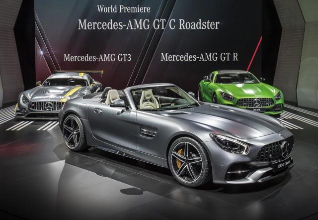 2018 Mercedes-AMG GT C Roadster, 2016 Paris auto show