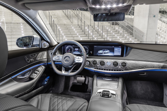 2018 Mercedes-Benz S560e plug-in hybrid