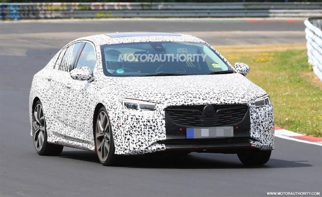 2018 Opel Insignia OPC Grand Sport spy shots - Image via S. Baldauf/SB-Medien
