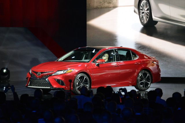 2018 Toyota Camry, 2017 Detroit auto show