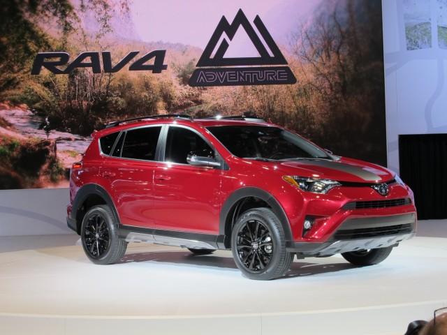Luxury Toyota RAV4 Adventure Brings Rugged Look Not Much Else