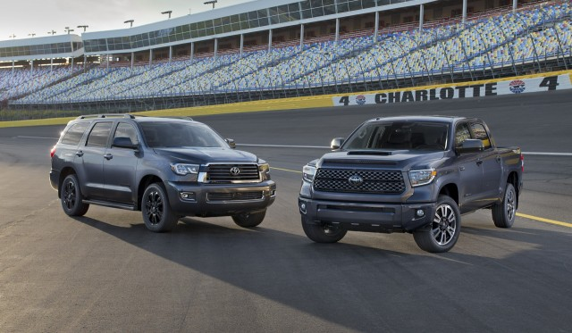 Toyota Sequoia, Tundra TRD Sport models toughen up