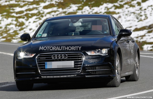 2019 Audi A7 test mule spy shots - Image via S. Baldauf/SB-Medien