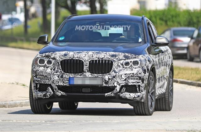 2019 BMW X4 M40i spy shots - Image via S. Baldauf/SB-Medien
