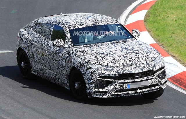 The Lamborghini Urus SUV is almost  here