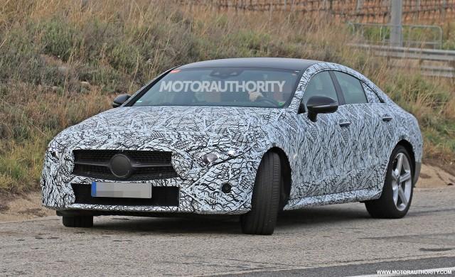 2019 Mercedes-Benz CLS spy shots - Image via S. Baldauf/SB-Medien