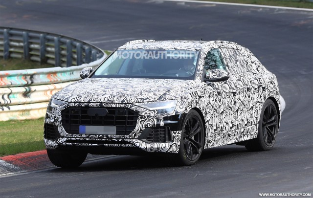 Audi Q8 Entering Production In 2018 Q4 In 2019