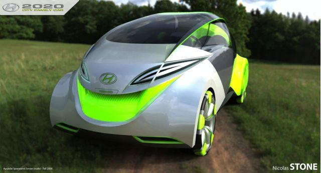 2020 Hyundai City Car concept by Nicholas Stone