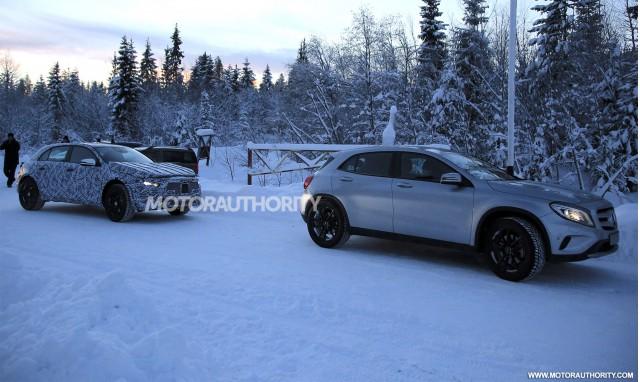 2020 Mercedes-Benz GLA test mule spy shots - Image via S. Baldauf/SB-Medien