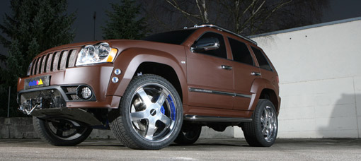 499HP DUNE Jeep Grand Cherokee SRT-8 by delta4×4