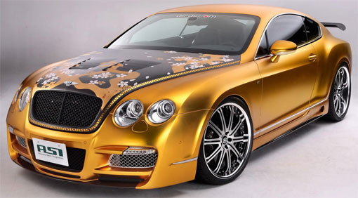 800HP ASI tuned Bentley Continental GT