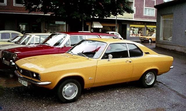 A 1971 Opel Manta  Image: Charles01