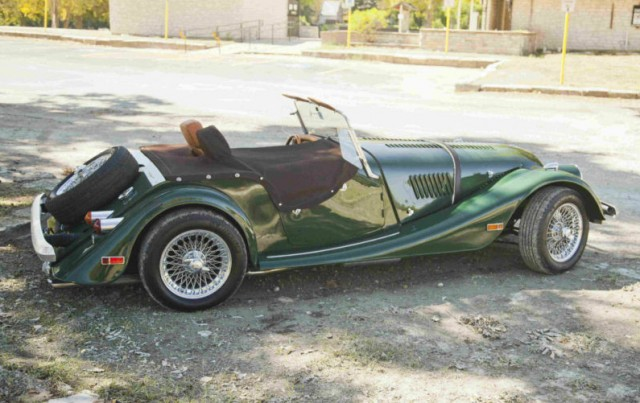 Alt Fuel With Flair Propane Powered 1982 Morgan Plus 8
