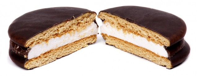 A Moon Pie made by the Chattanooga Bakery
