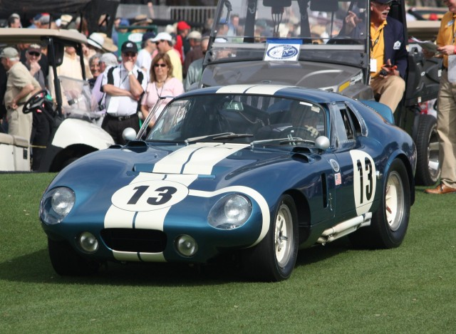 A Shelby Daytona Cobra coupe at Amelia Island