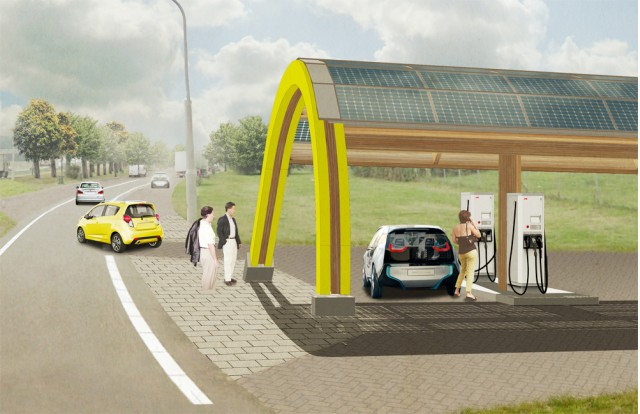 ABB Group's 'Fastned' fast charging stations