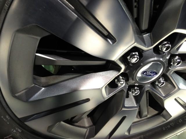 Active wheel shutters - Ford Atlas Concept - 2013 Detroit Auto Show