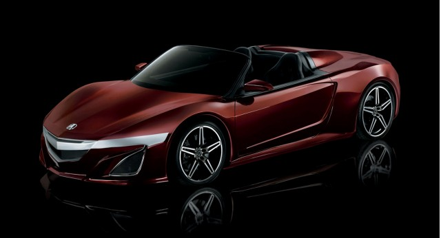 Acura NSX Roadster prop from Avengers movie