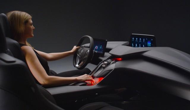 Acura Precision Cockpit concept, 2016 Los Angeles auto show
