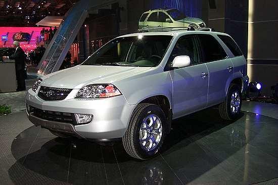 Acura MDX, 2000 New York Auto Show