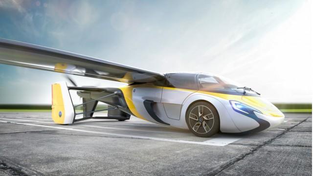 Aeromobil updated flying car prototype
