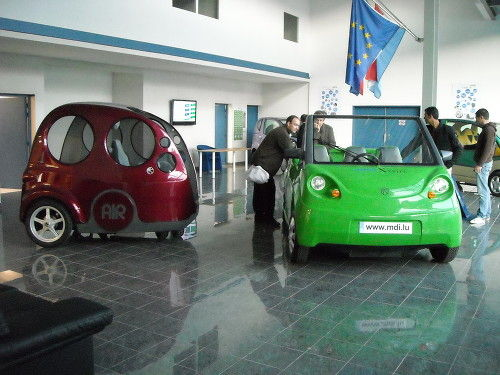 Airpod compressed-air cars, 2009