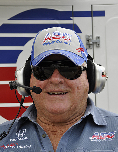 AJ Foyt at Indianapolis in May 2011. Photo: Anne Proffit