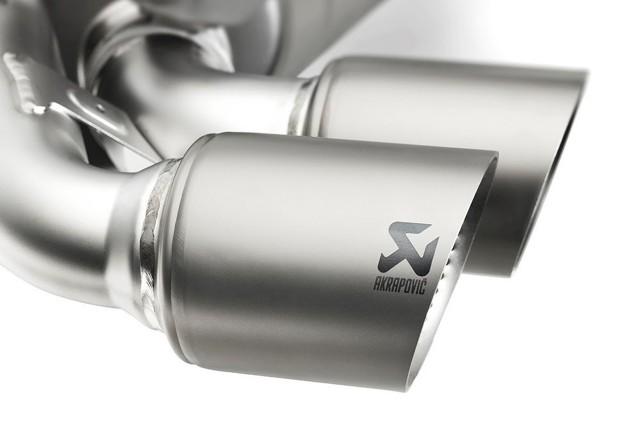 Akrapovič titanium exhaust for MkVII Volkswagen Golf R