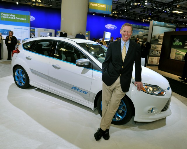 Former ford ceo alan mulally joins google for Ford motor company alan mulally