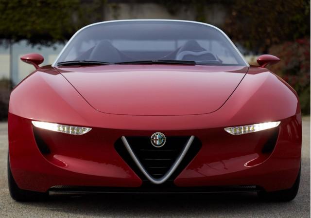 Alfa Romeo 2uettottanta Concept By Pininfarina