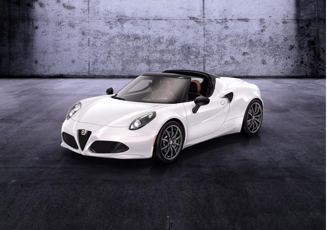Alfa Romeo 4C Spider concept, 2014 Geneva Motor Show
