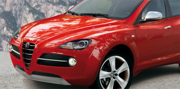 New Alfa SUV will likely be styled after 2003's Kamal Concept
