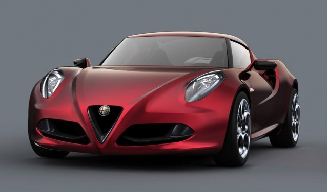 2011 Alfa Romeo 4C Concept