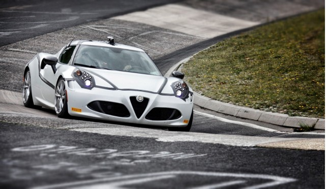 Alfa Romeo 4C attacks the Nürburgring Nordschleife