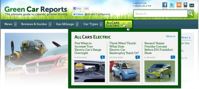 All Cars Electric's New Home on the Internet at GreenCar Reports