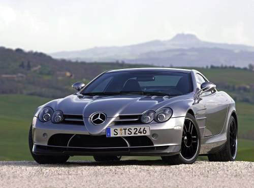 "All new Mercedes SLR ""722 Edition"""