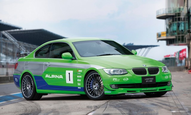 Alpina B3 GT3 based on the BMW 3-Series Coupe