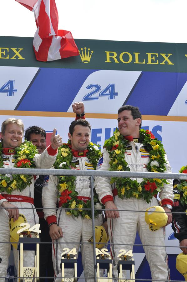 American entrant Starworks Motorsports won LMP2 - Anne Proffit photo