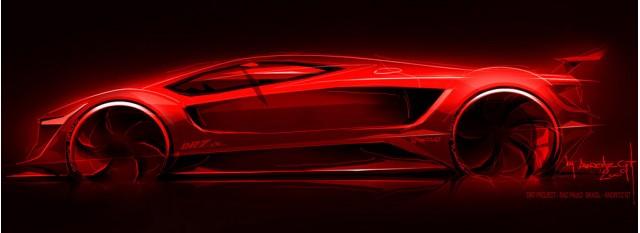 Amoritz GT DR7 supercar teaser