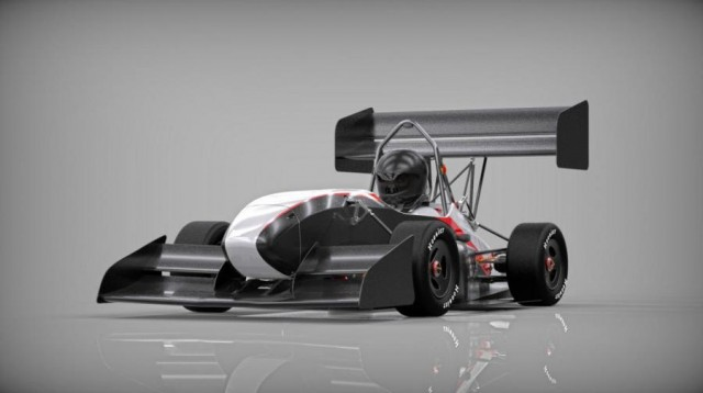 AMZ Racing Team's Formula Student electric racing car (Image: AMZ Racing Team)