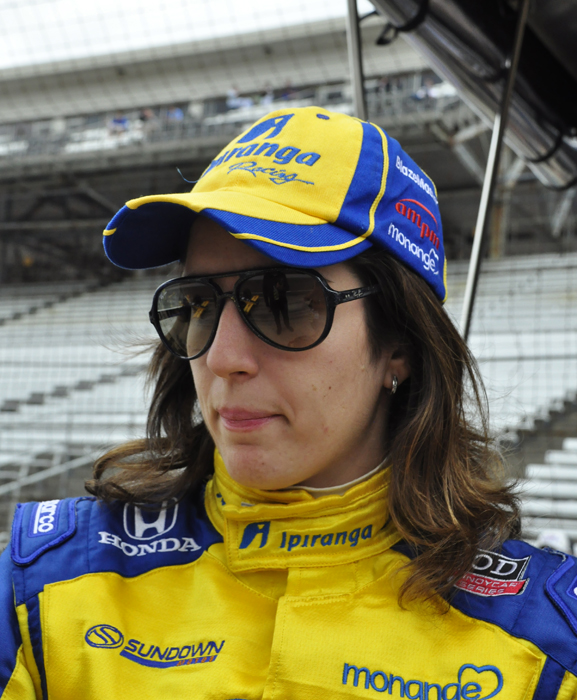 Ana Beatriz at the 2011 Indianapolis 500 - Anne Proffit photo
