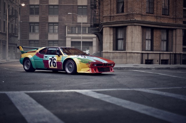 Andy Warhol BMW M1 Art Car
