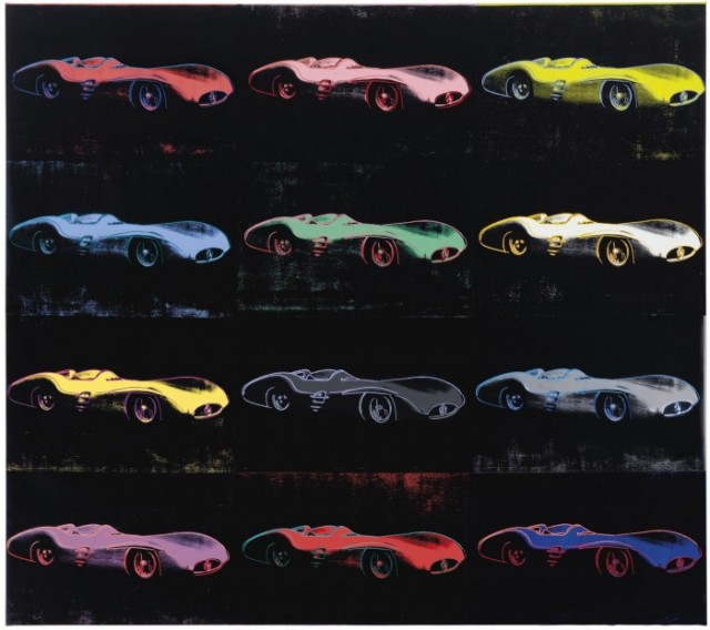 Andy Warhol Mercedes-Benz W196 silkscreen heads to auction.