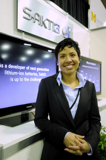 Ann Marie Sastry, CEO of startup lithium-ion cell maker Sakti3